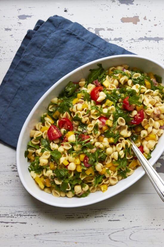 Mayo-Free Vegan Pasta Salad