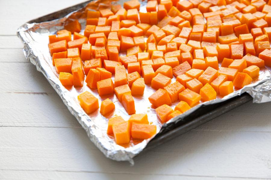 Butternut Squash on a Sheet Pan