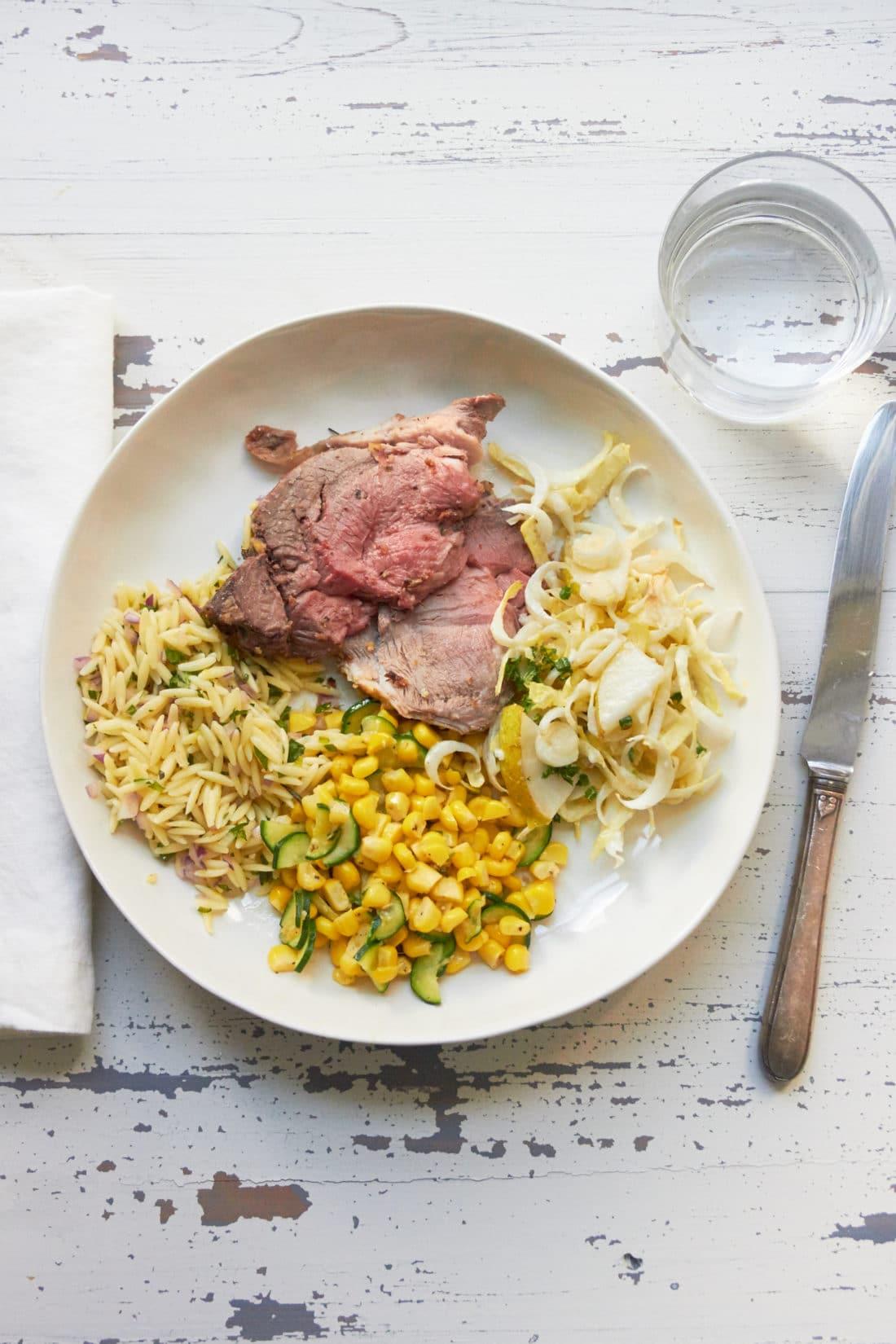 Best orzo side dish / Mia / Katie Workman / themom100.com