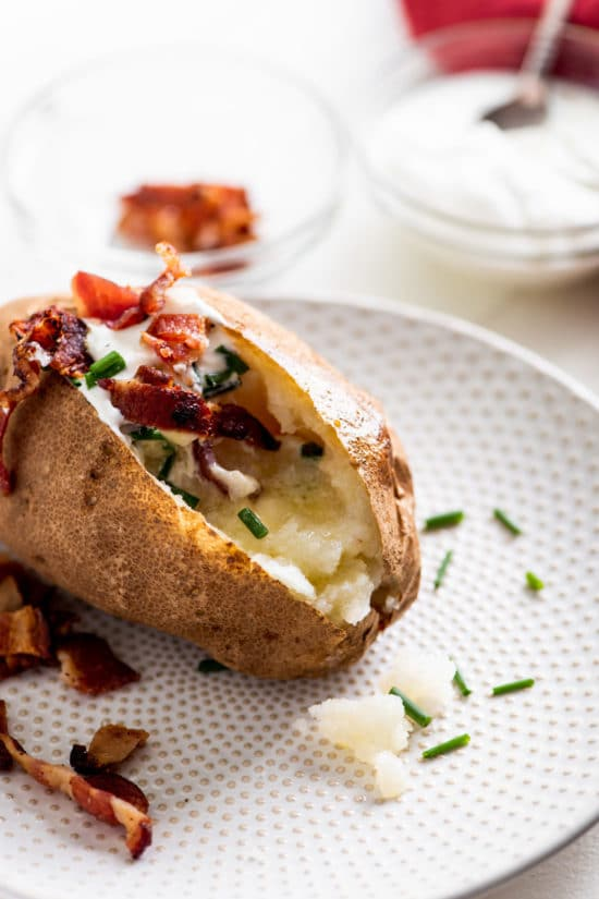 How to Make a Perfect Baked Potato