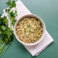 Herby Brown Rice / Carrie Crow / Katie Workman / themom100.com