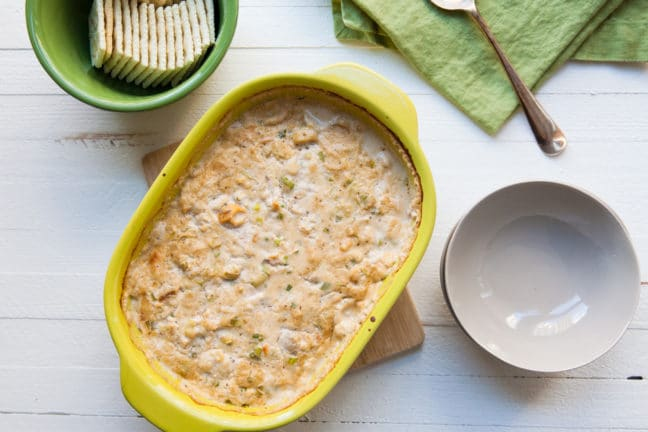 Hot Clam Dip / Carrie Crow / Katie Workman / themom100.com