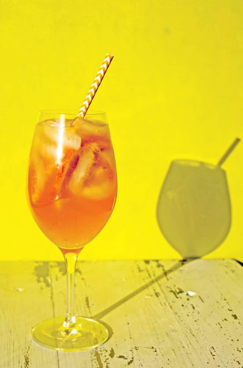 Orange White Wine Campari Sangria / Mandy Maxwell / Katie Workman / themom100.com
