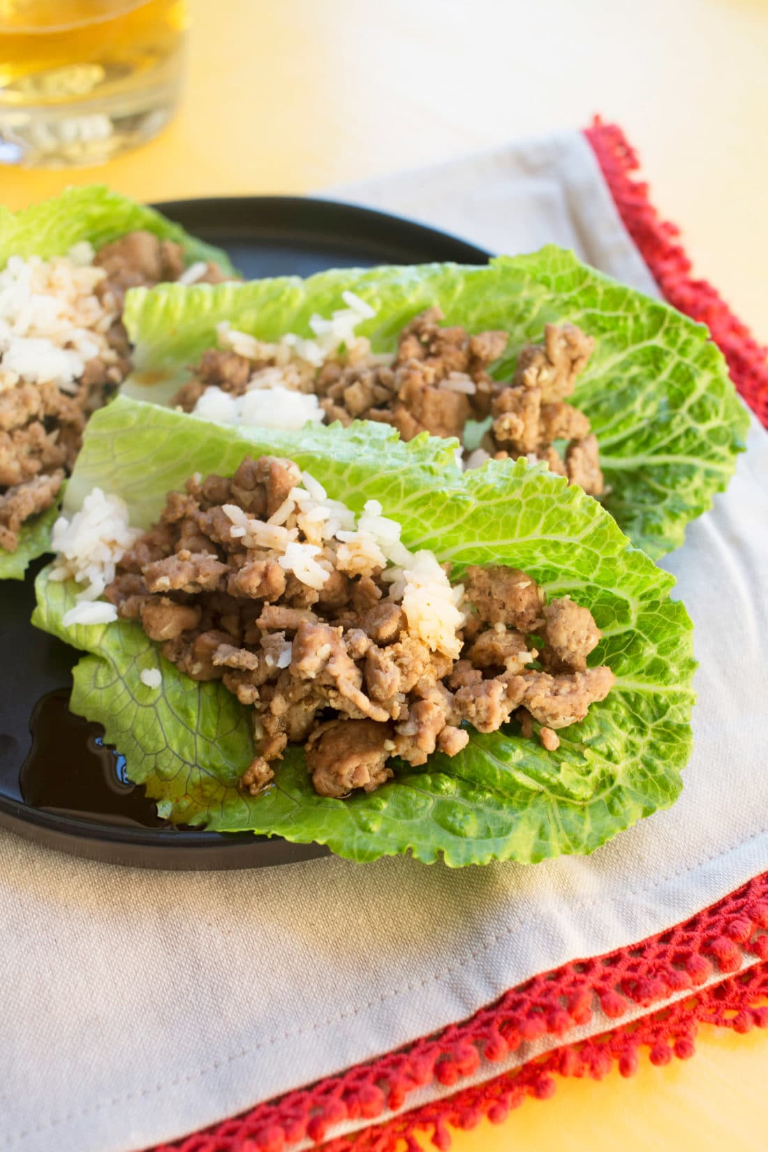 Chicken Larb / Photo by Lucy Beni / Katie Workman / themom100.com