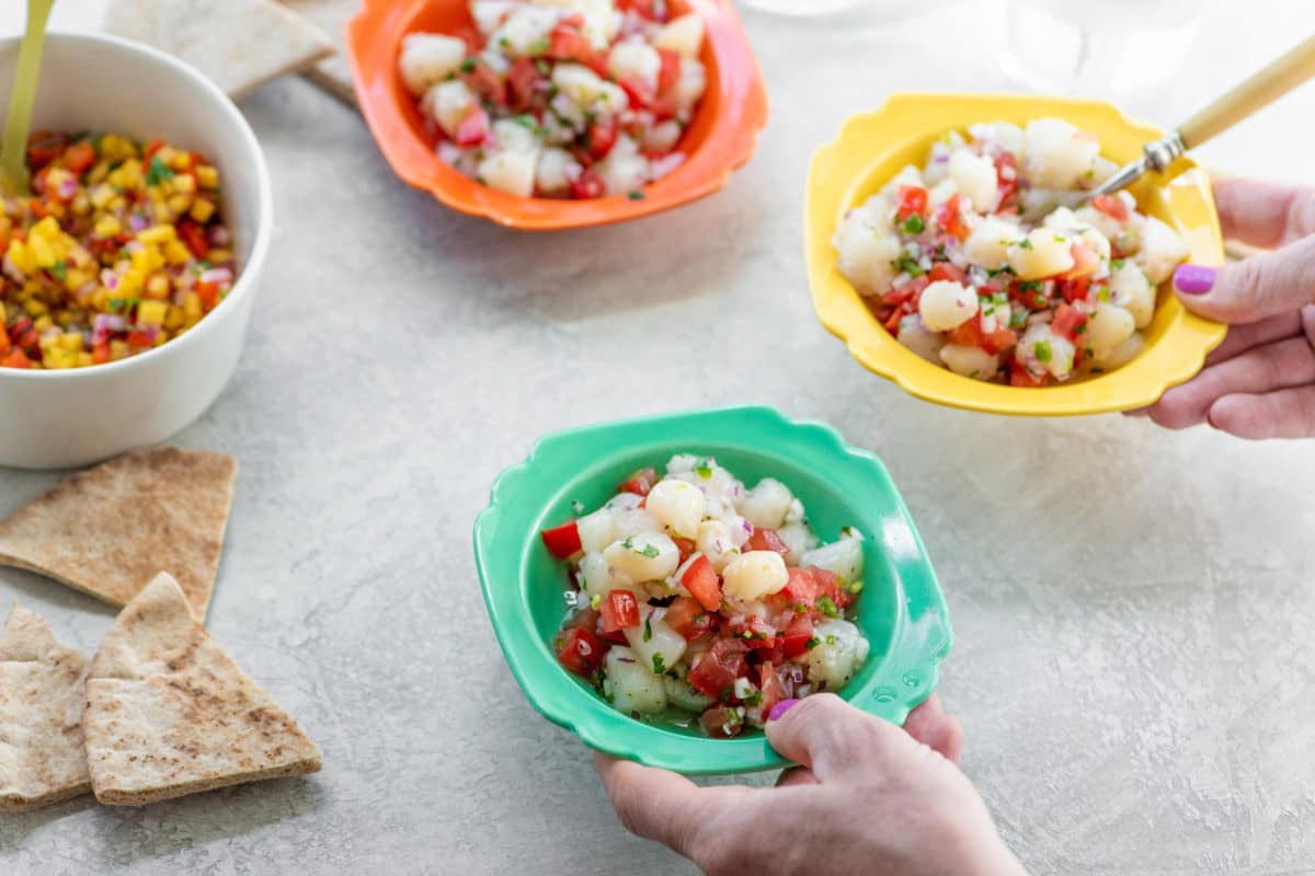 What is ceviche made out of? / Katie Workman / themom100.com / Photo by Cheyenne Cohen
