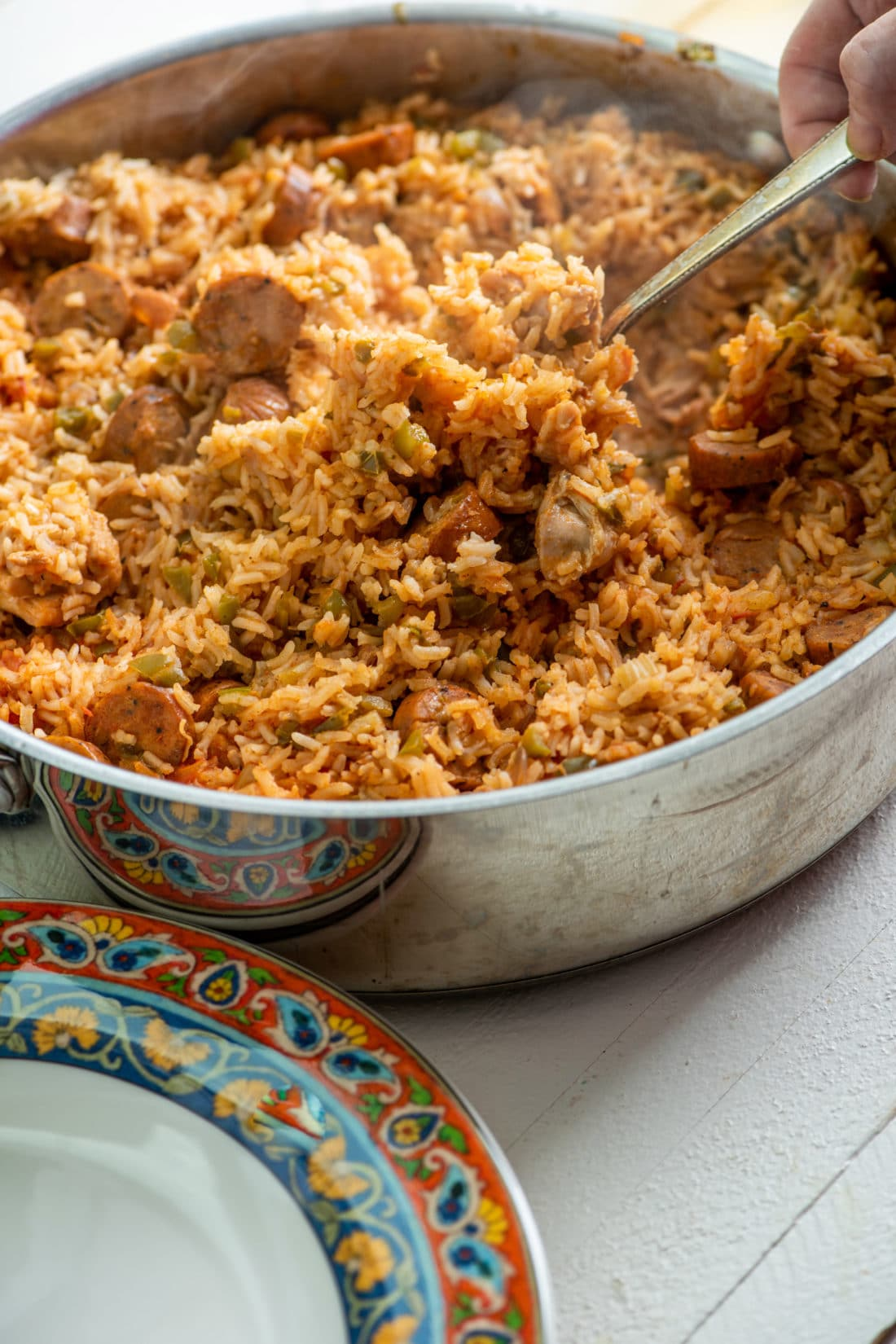 Easy Jambalaya Recipe / Katie Workman / themom100.com / Photo by Cheyenne Cohen