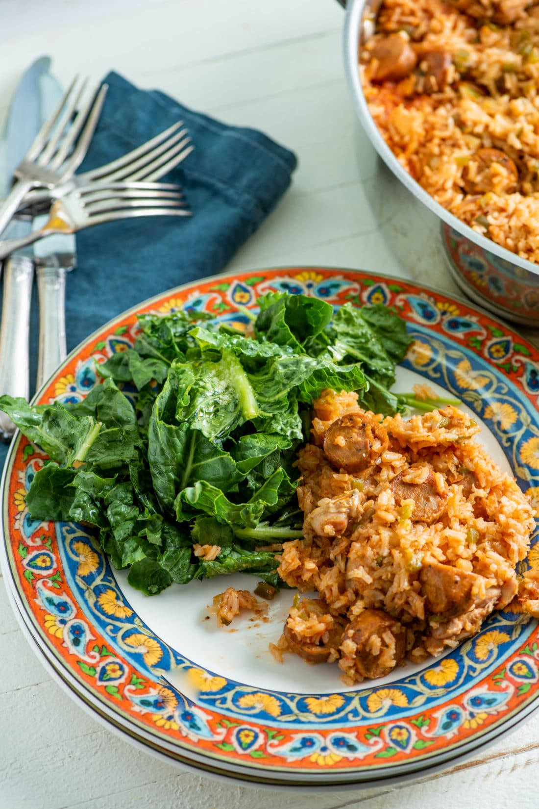 Authentic Jambalaya Recipe / Katie Workman / themom100.com / Photo by Cheyenne Cohen