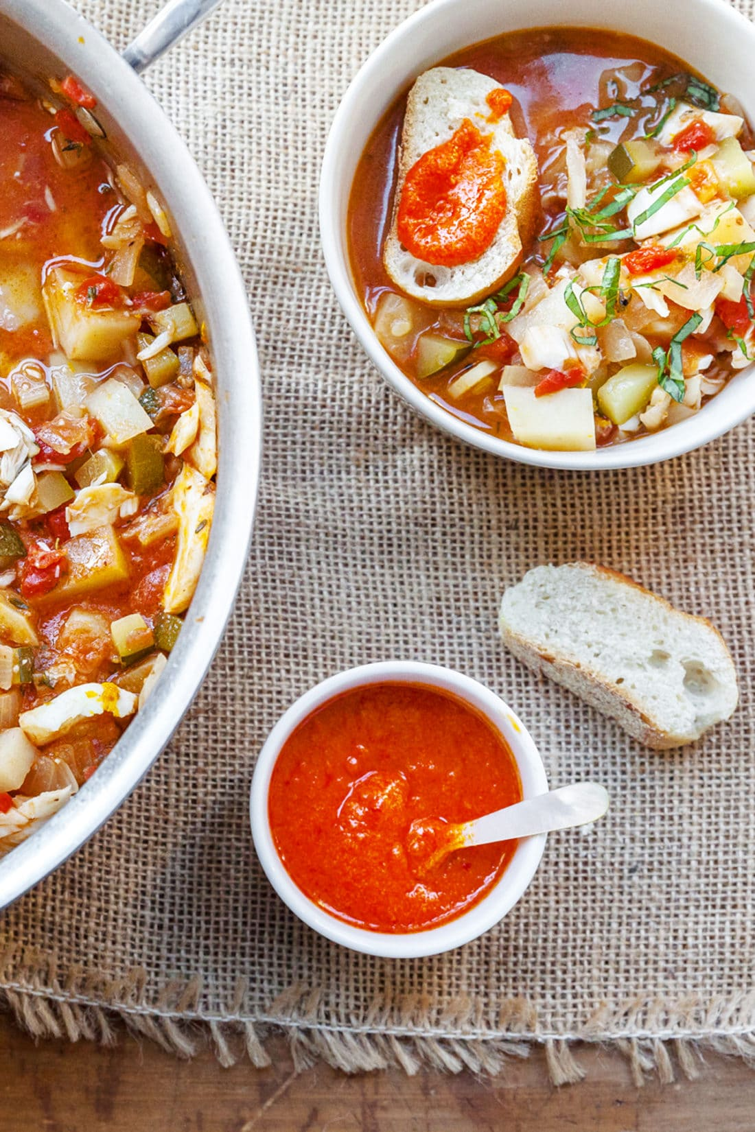 Quick Rouille Recipe / Katie Workman / themom100.com / Photo by Carrie Crow