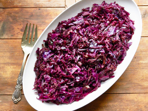 Spicy Braised Radicchio And Red Cabbage With Citrus The Mom 100