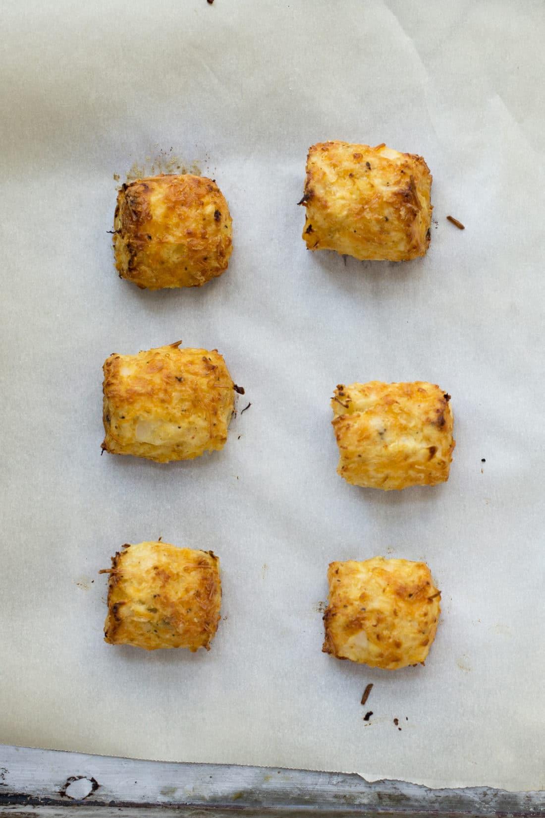Cauliflower Tots / Katie Workman / themom100.com / Photo by Lucy Beni