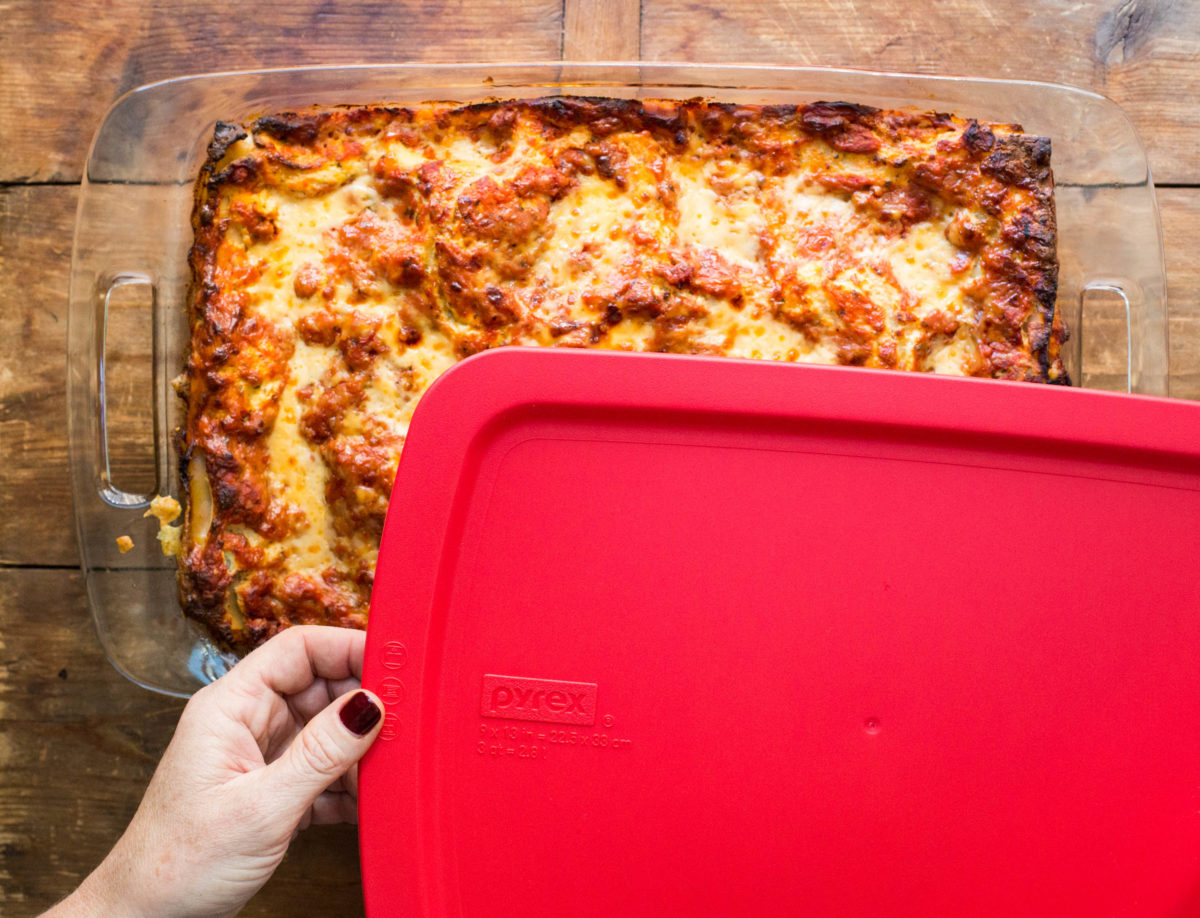best containers for freezing casseroles