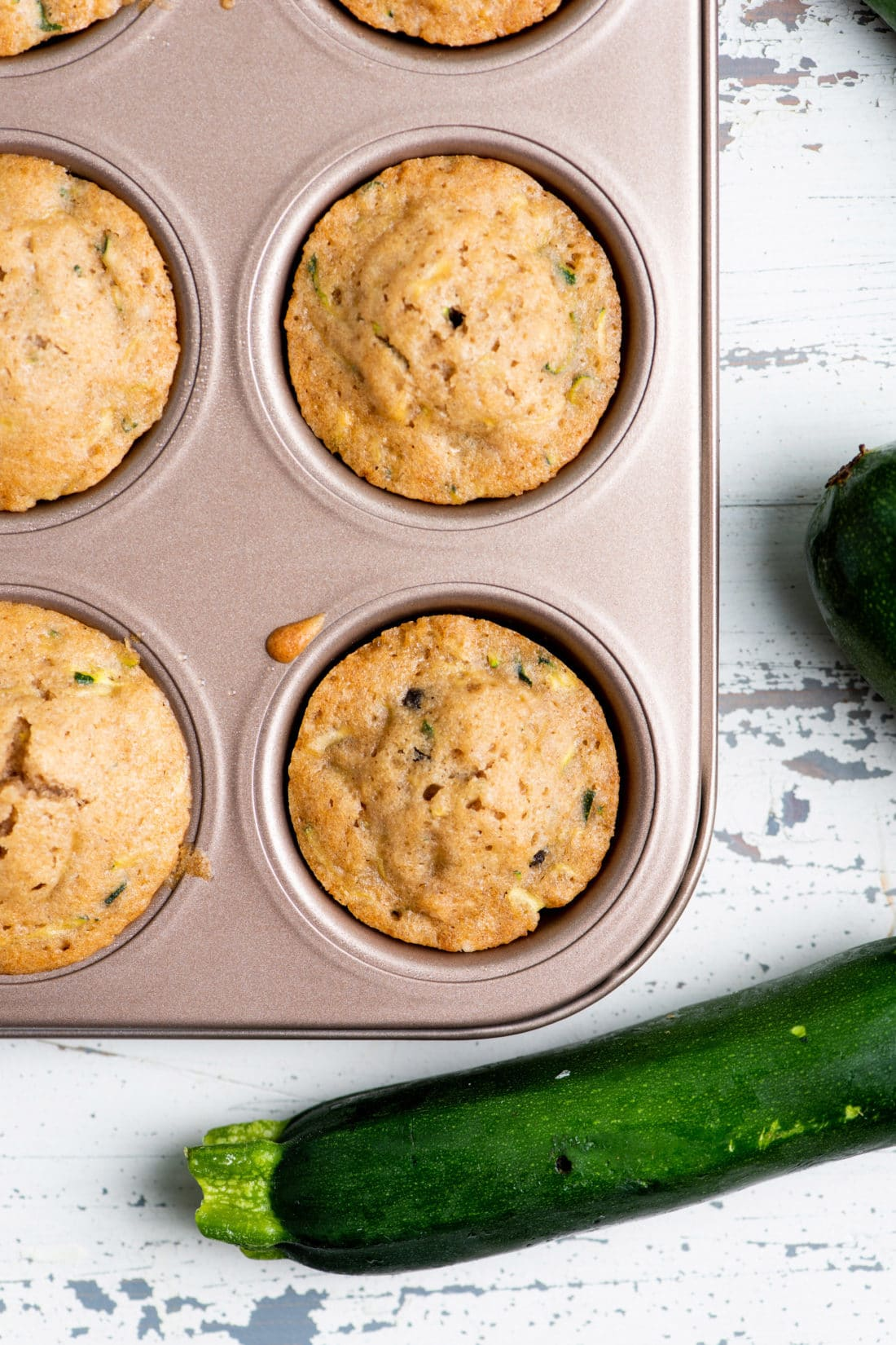 How to Make Zucchini Muffins
