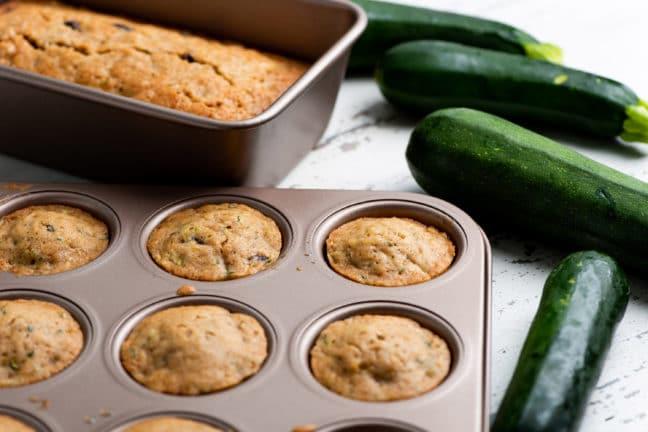 Classic Zucchini Bread or Muffins