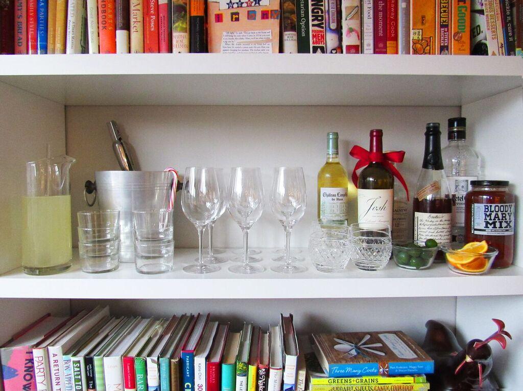 Holiday Open House - Bookshelf Bar