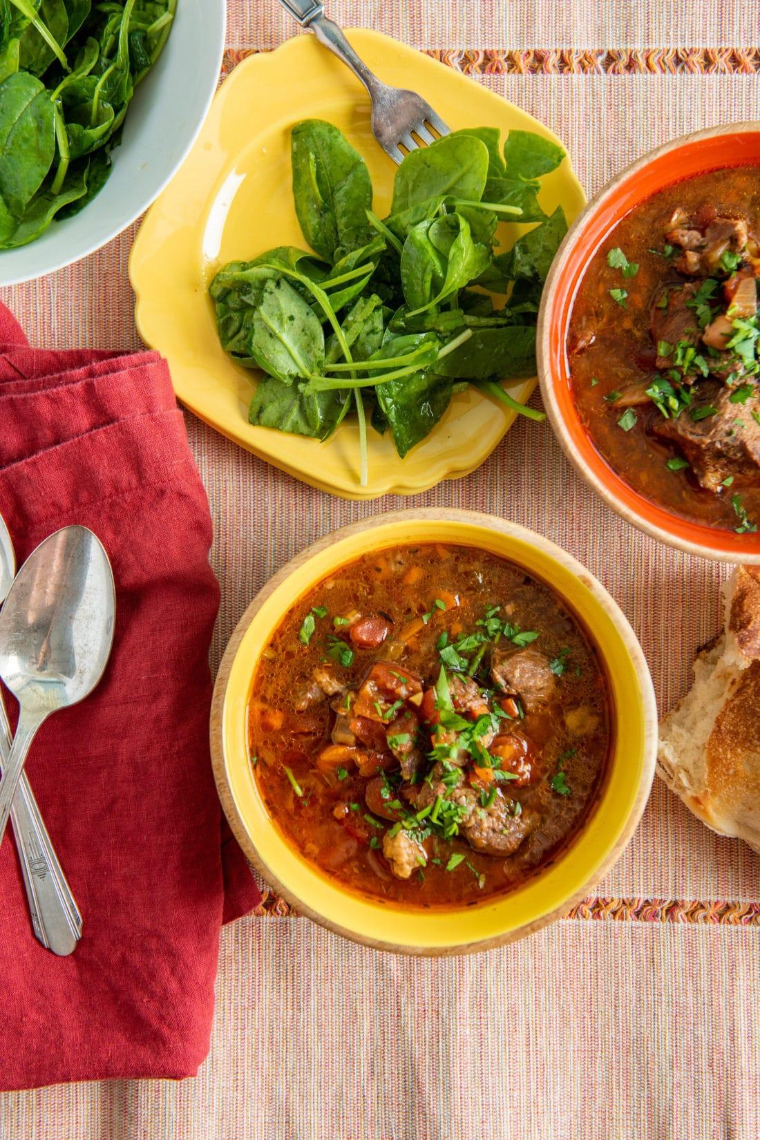 Instant Pot Mediterranean Lamb Stew