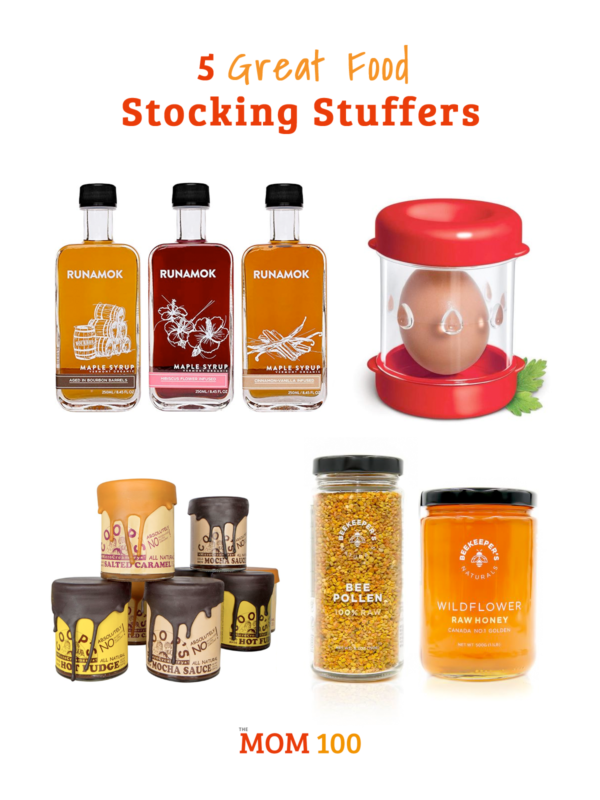 5 Great Food Stocking Stuffers