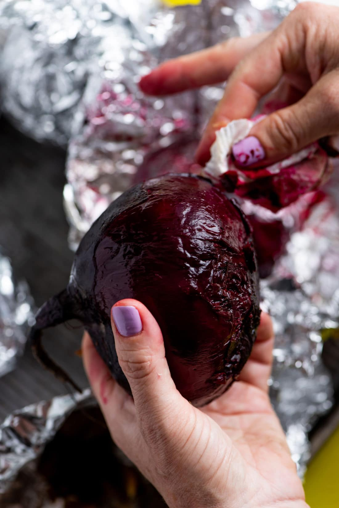 How to Peel Beets