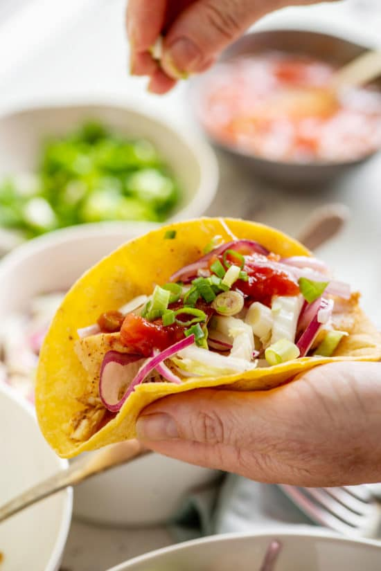 Alaska Rockfish Tacos