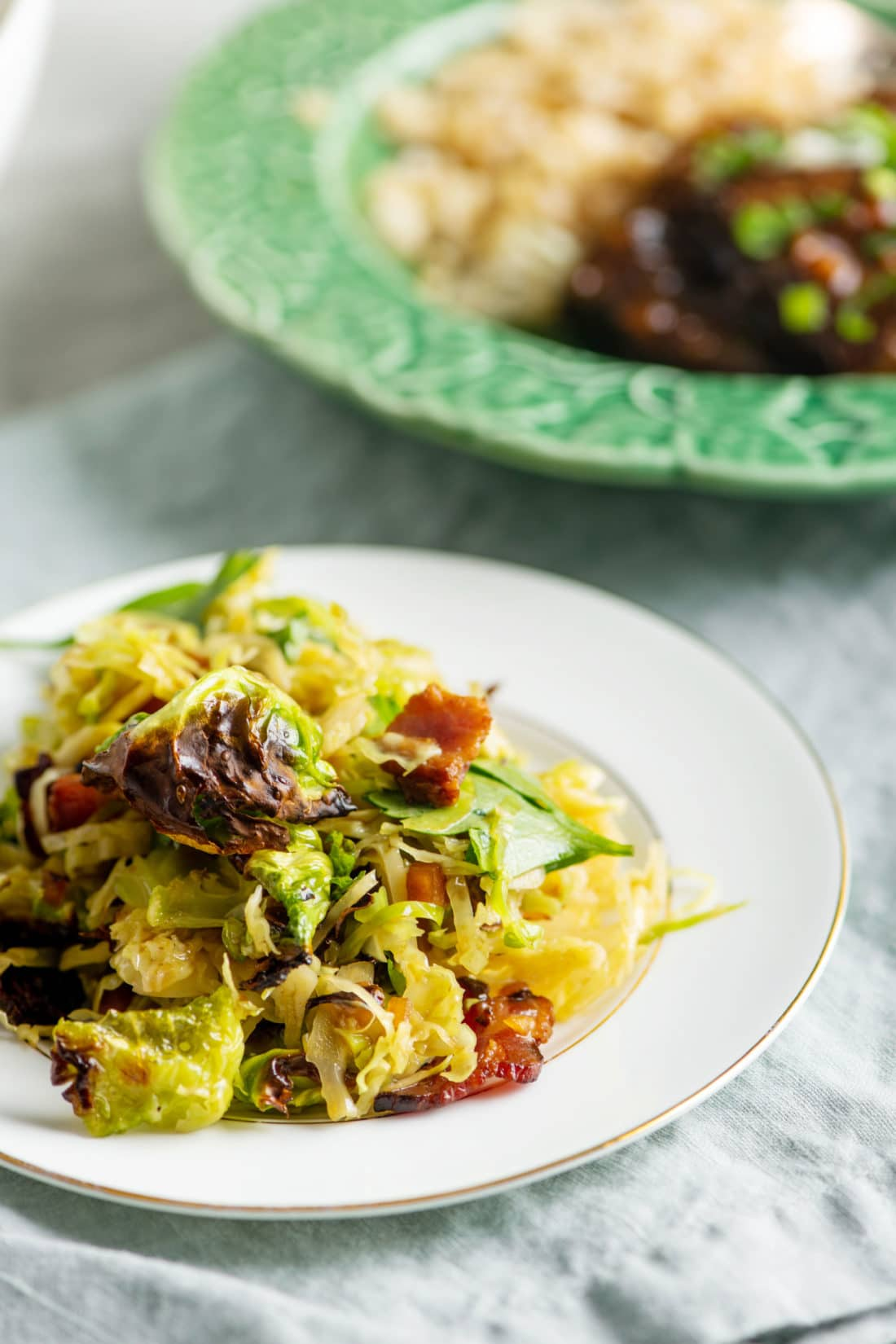 Crispy Brussels Sprouts Salad