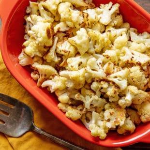 Perfect Simple Roasted Cauliflower