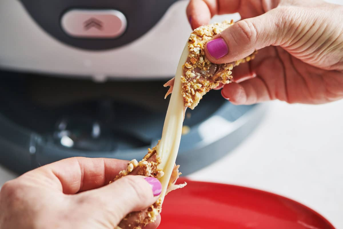 Air Fryer Mozzarella Cheese Sticks