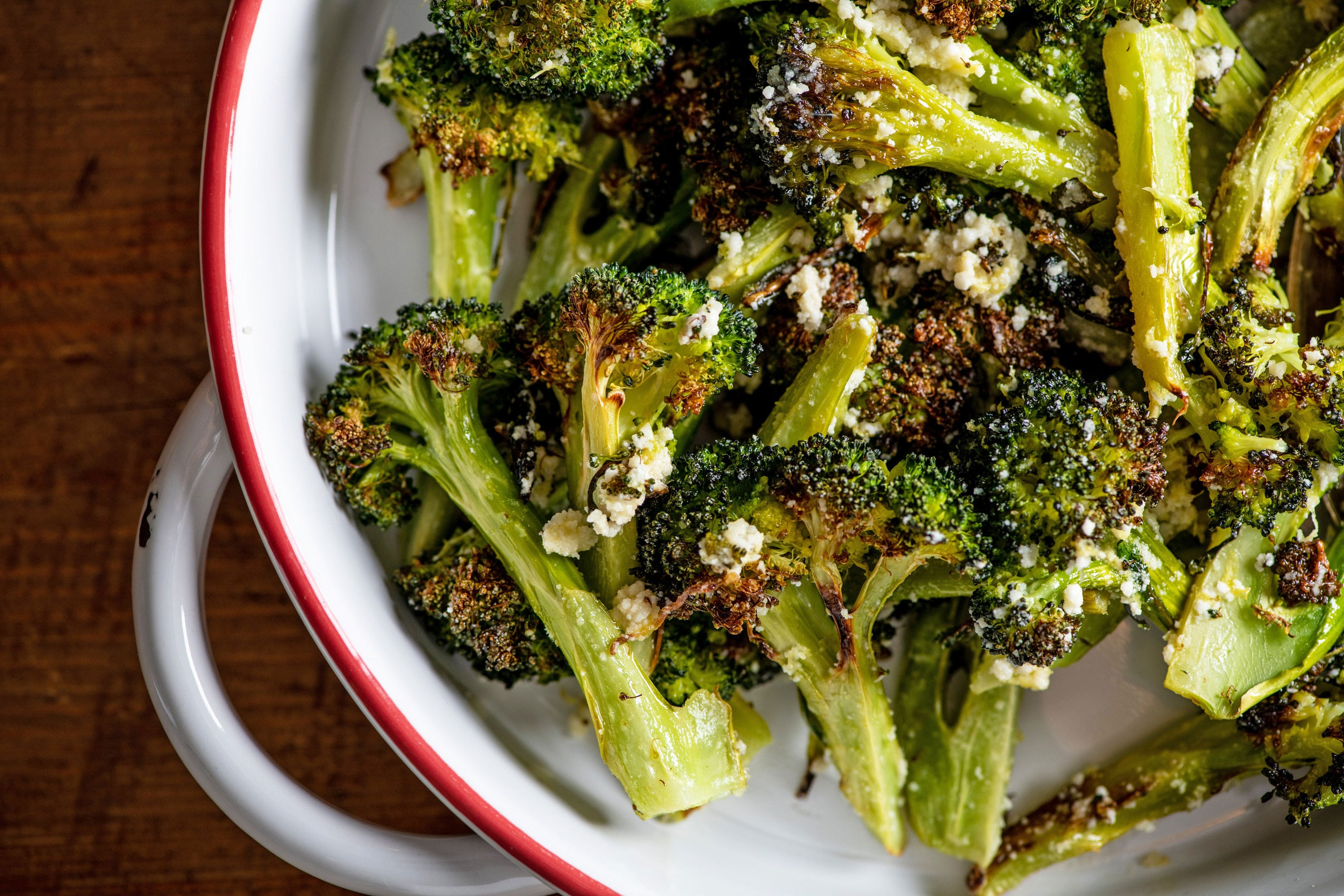 Best Parmesan Roasted Broccoli Quick And Easy The Mom 100