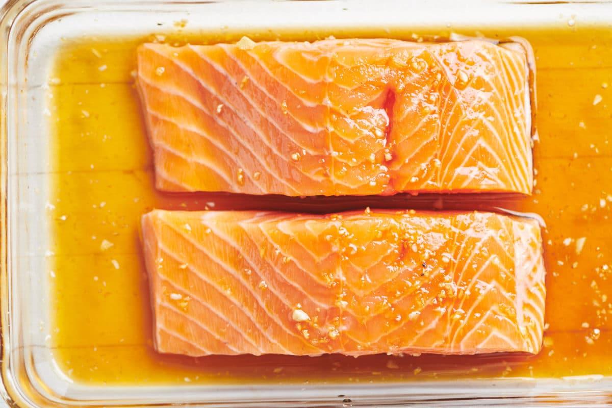 5-Ingredient Honey Ginger Salmon