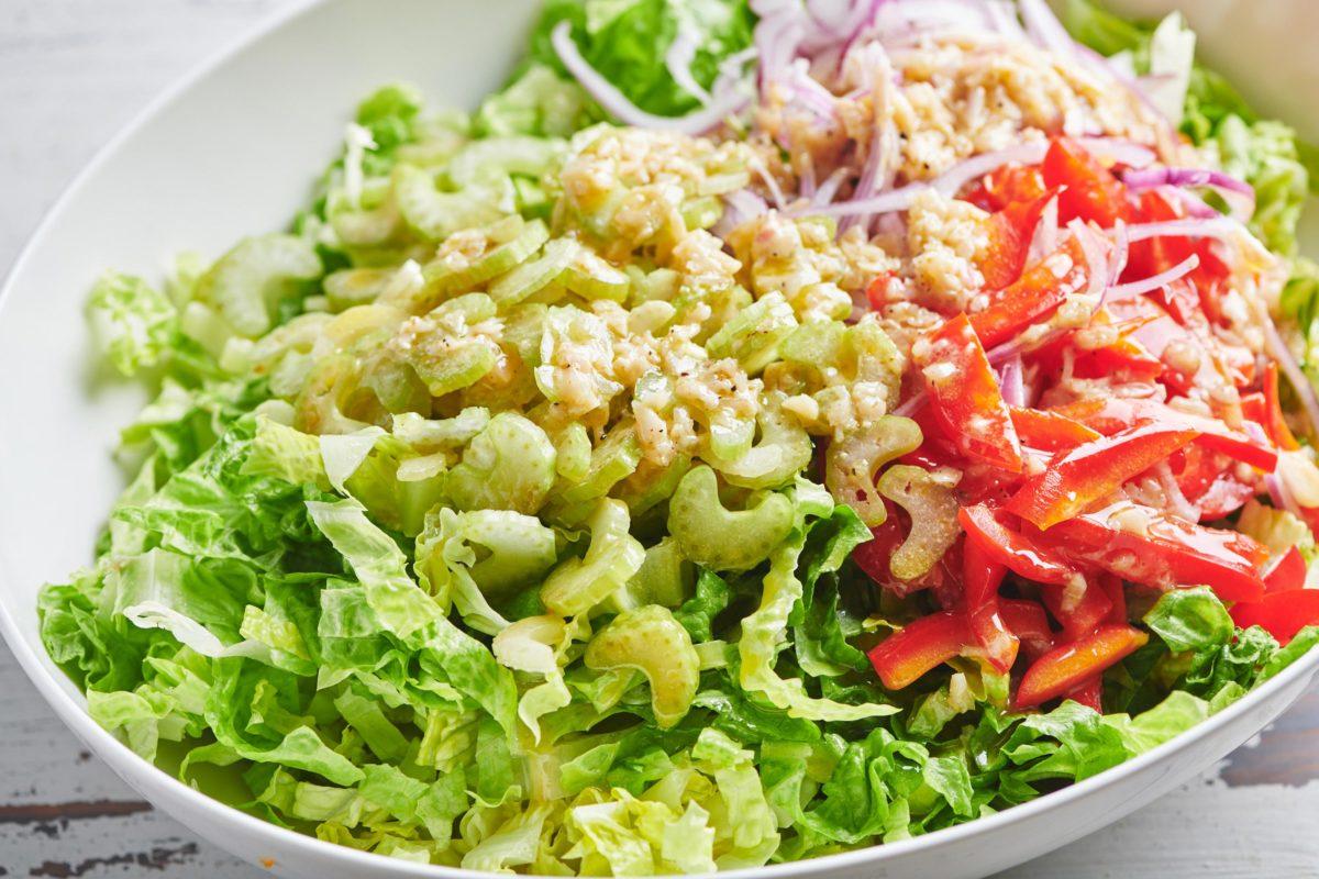 Romaine Salad with Queso Fresco
