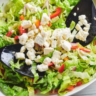 Romaine Salad with Queso Fresco