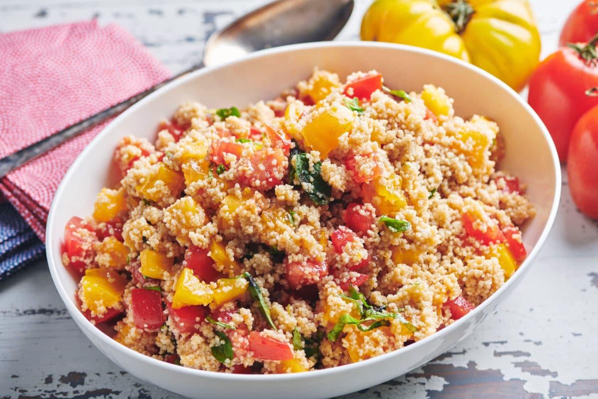 Tomato Bruschetta Couscous