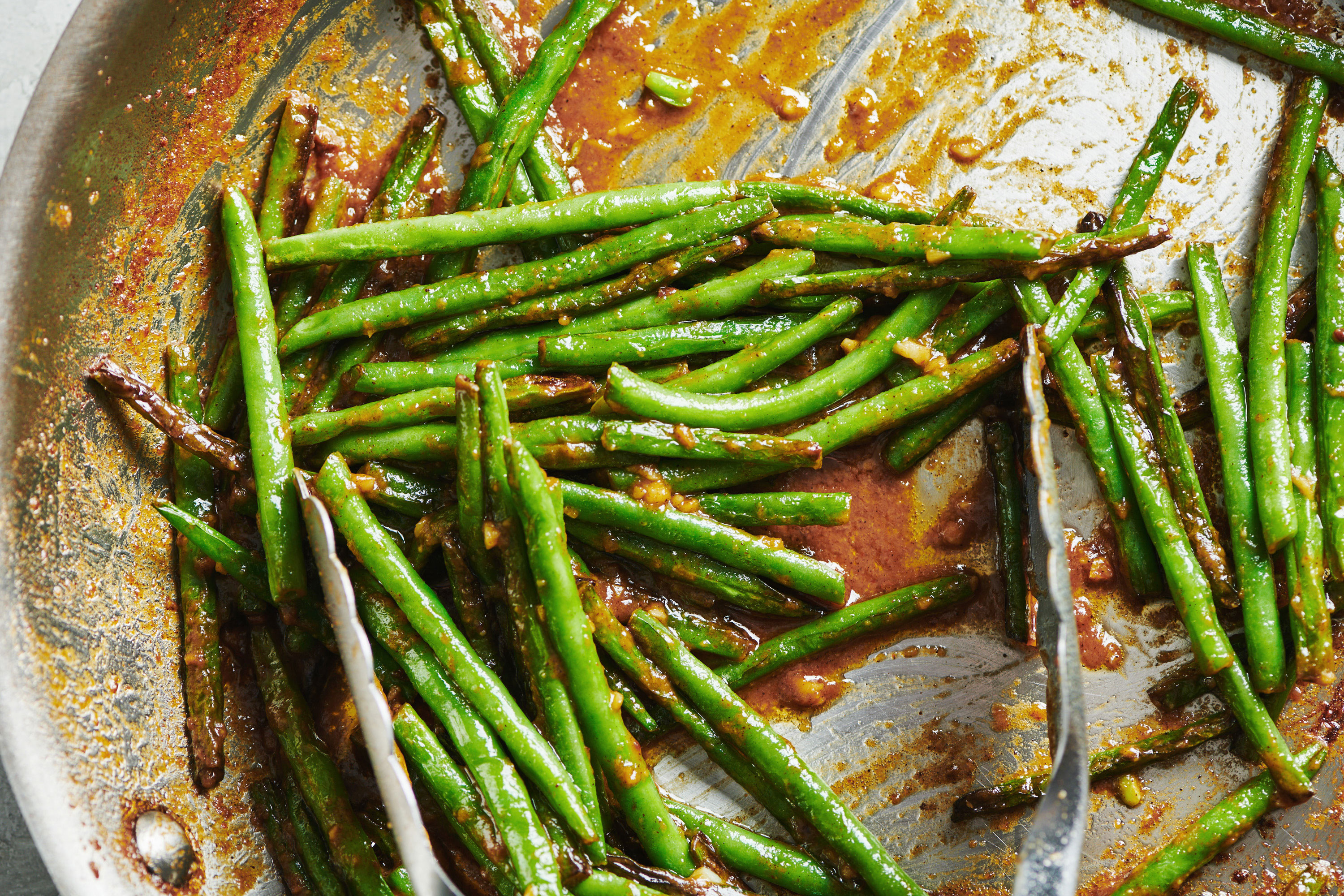 Blistered Green Beans With Miso Butter Recipe The Mom 100