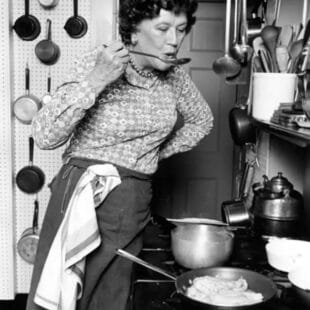 Julia Child by Lynn Gilbert, 1978