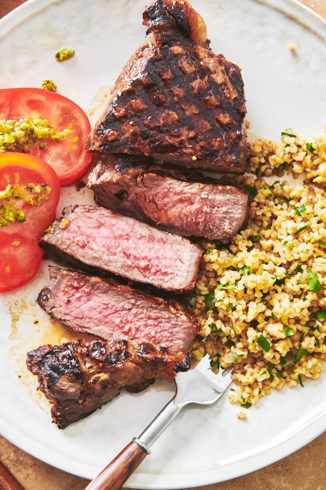 Grilled Marinated Ny Strip Steak Recipe The Mom 100