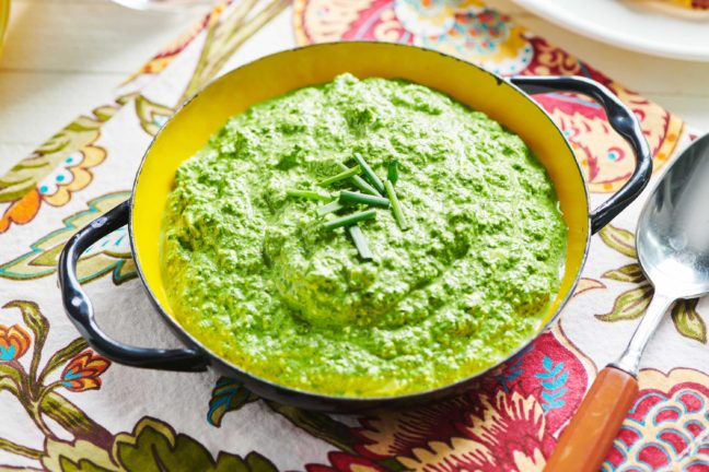 Parmesan Feta Spinach Dip
