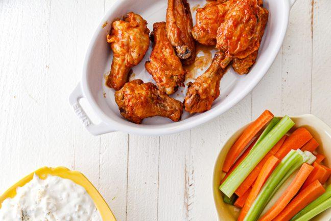 Air Fryer Buffalo Chicken Wings