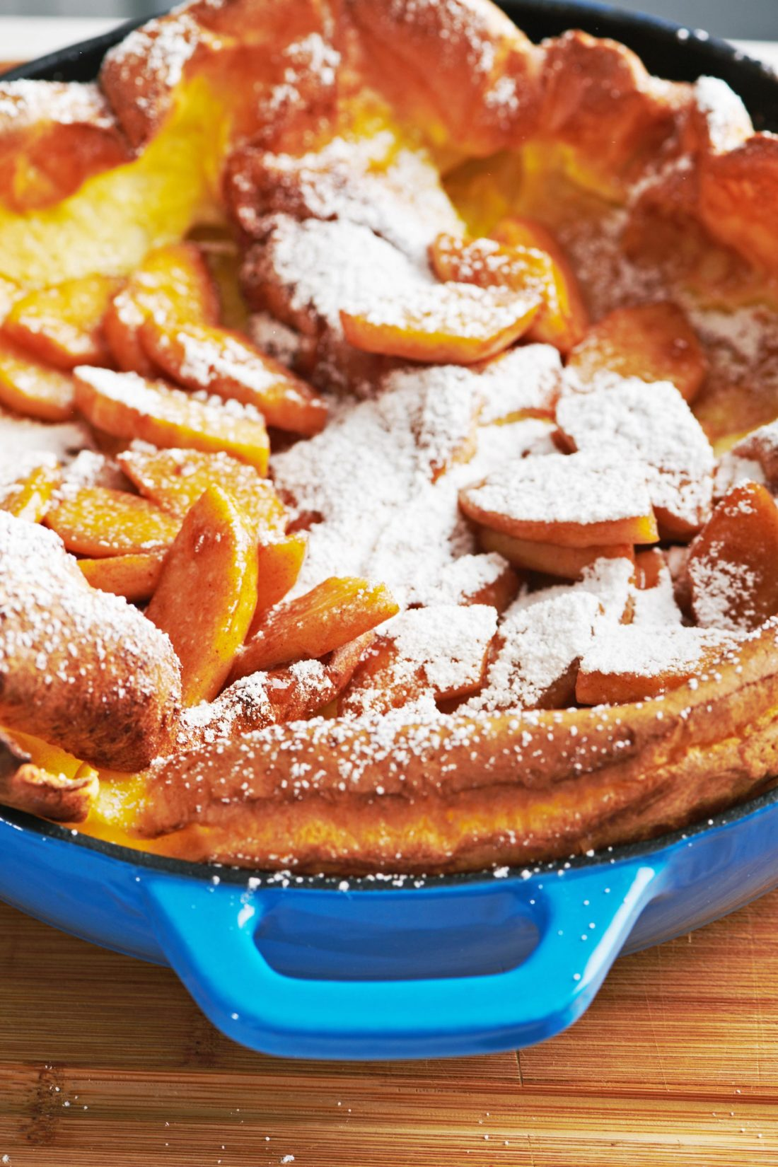Dutch Baby Pancake with Sauteed Apples