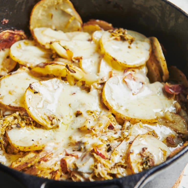 Dutch Oven Idaho Potatoes