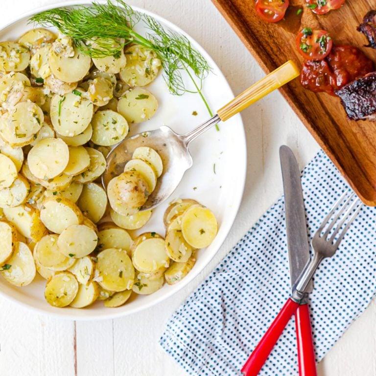 French Potato Salad