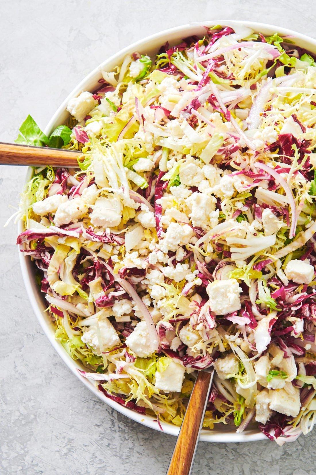 Frisee Radicchio And Escarole Salad Recipe The Mom 100
