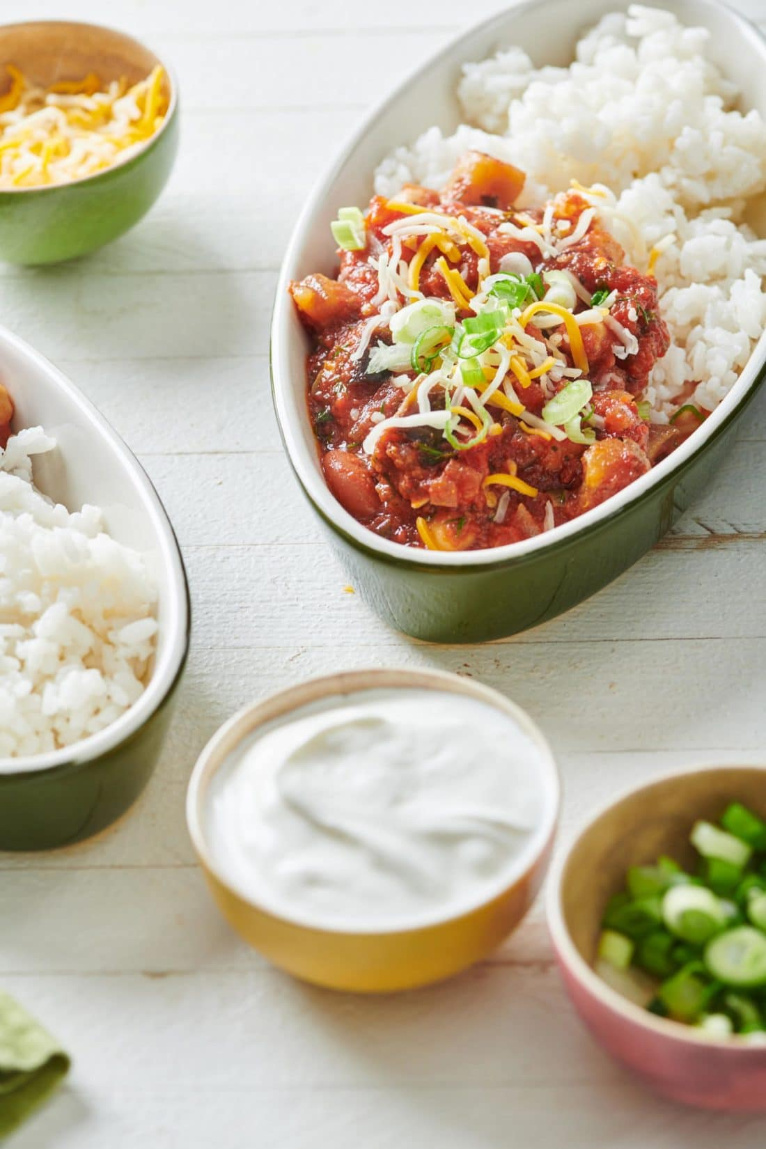 Slow Cooker Vegetable Chili