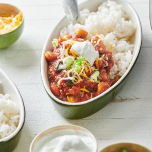 Instant Pot Vegetable Chili