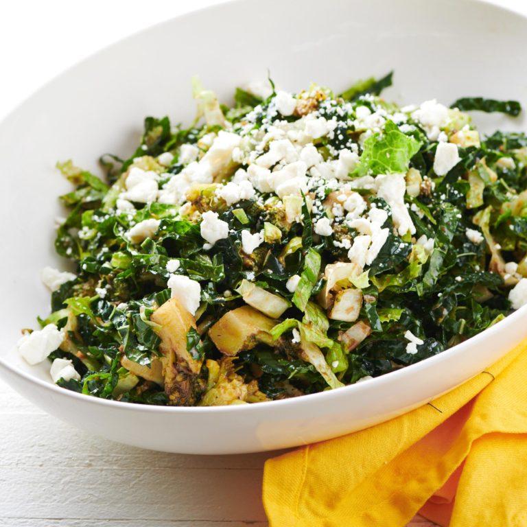Romaine, Kale and Broccoli Salad