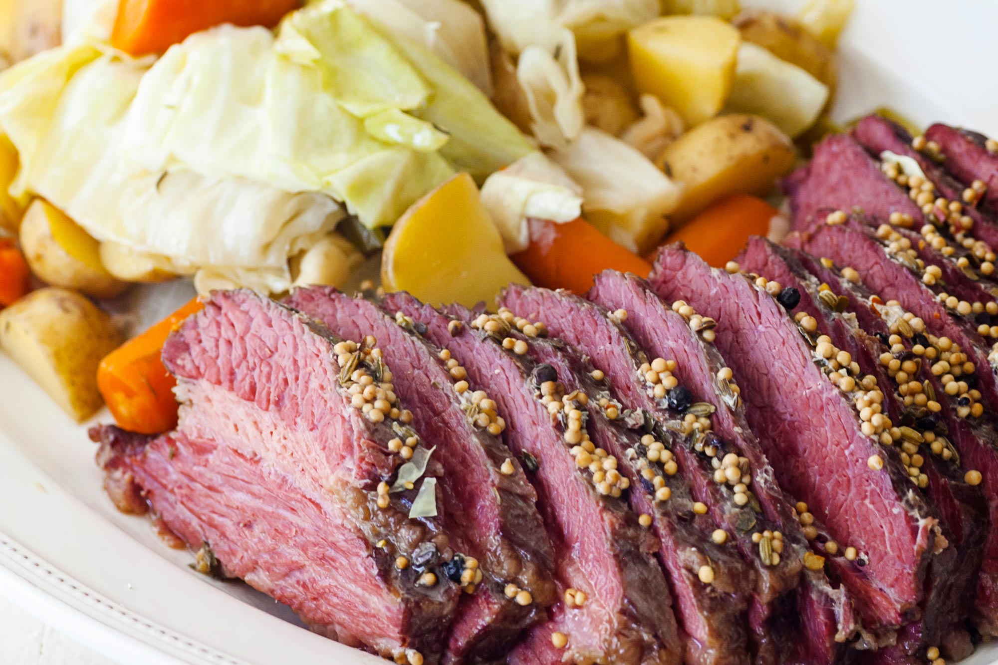 Slow Cooker Corned Beef and Cabbage Recipe — The Mom 100