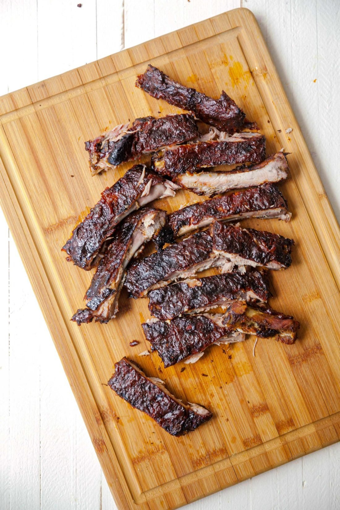 Oven Baked Cajun Sticky Ribs