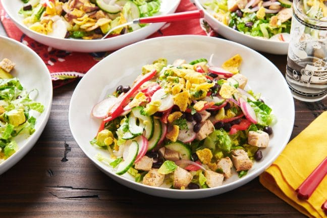 Southwestern Chicken Taco Salad Bowl