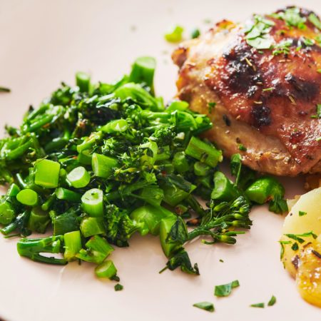 How to Saute Broccolini