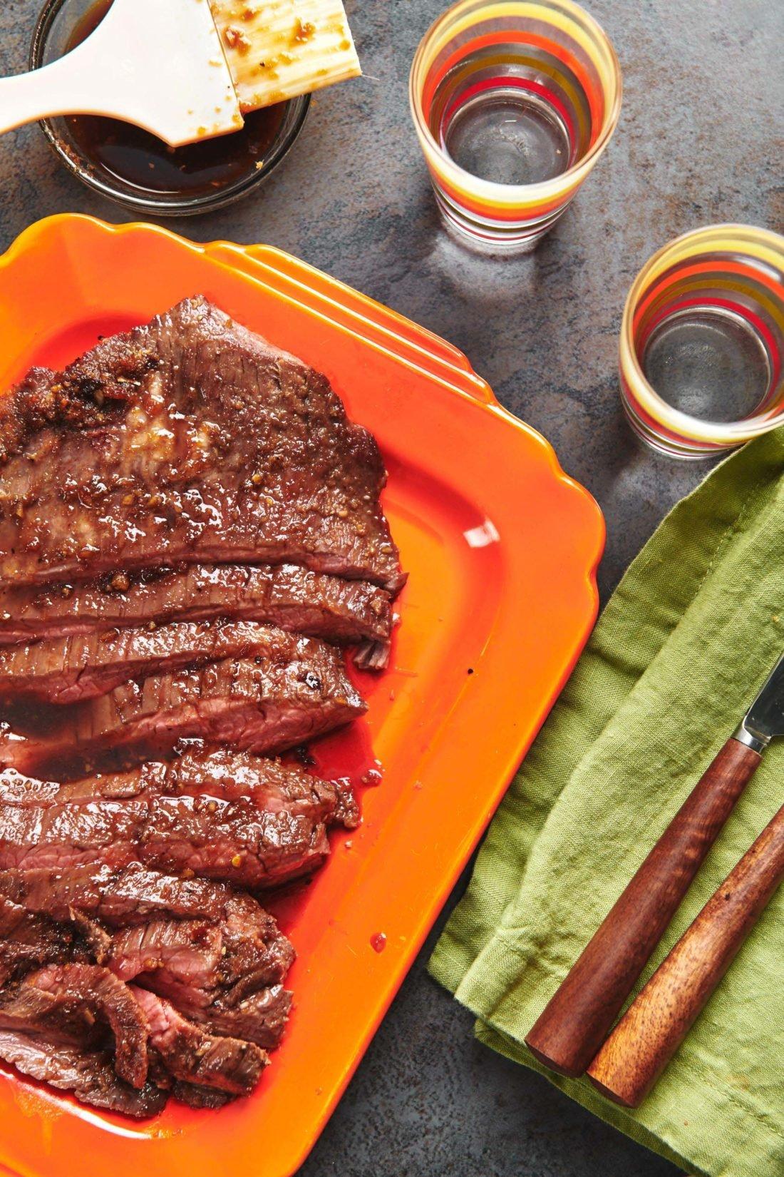 Soy-Ginger Flank Steak