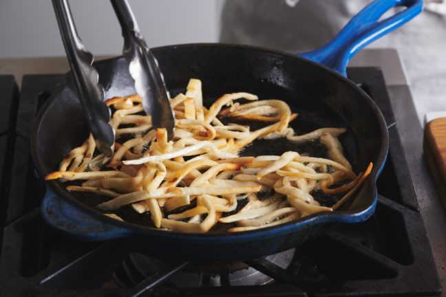 How to Make Fried Tortilla Strips