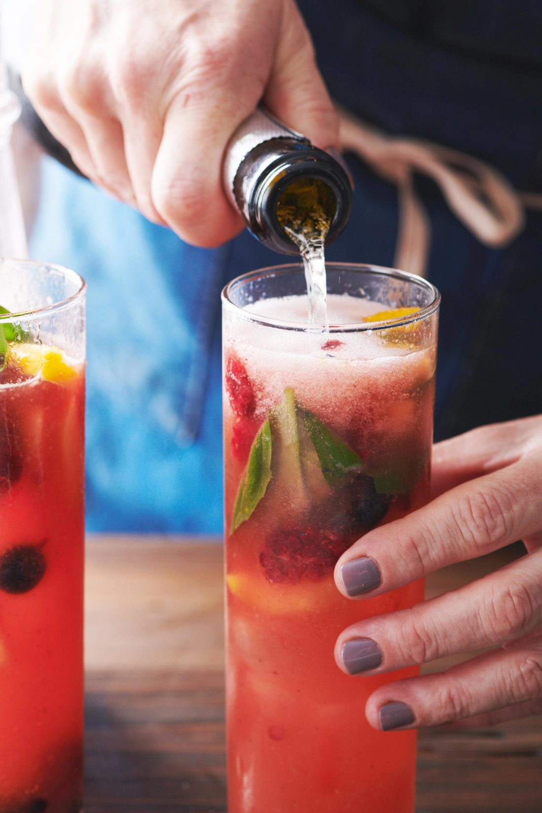 Summer Fruit and Berry Sangria