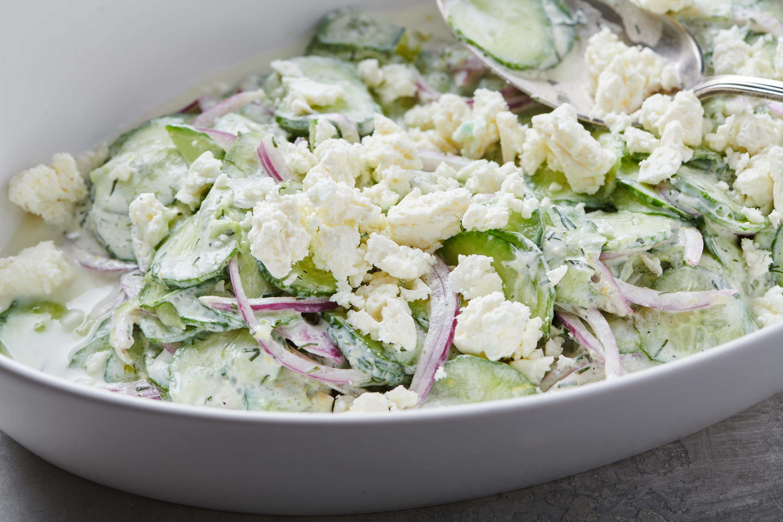 Cucumber Salad Recipe Creamy
